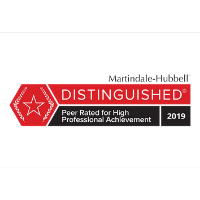 Martindale-Hubbell Distinguished 2019